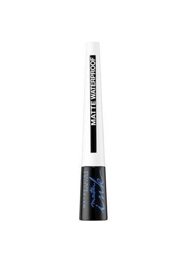 Maybelline Maybelline New York Master Ink Suya Dayanıklı Mat Siyah Eyeliner Siyah